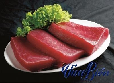 Cá Ngừ Cắt Khúc Saku