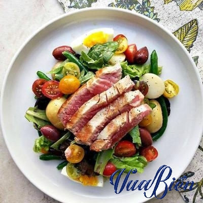 Salad Cá Ngừ Áp Chảo